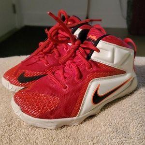 Nike LeBron size 9 toddler/boy